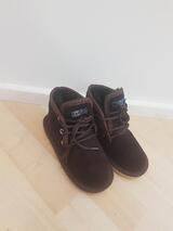 Kids Small Dark Brown lace up