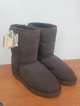 Short Boot Dark Brown