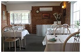 Alexander Motor Inn Moree restaurant