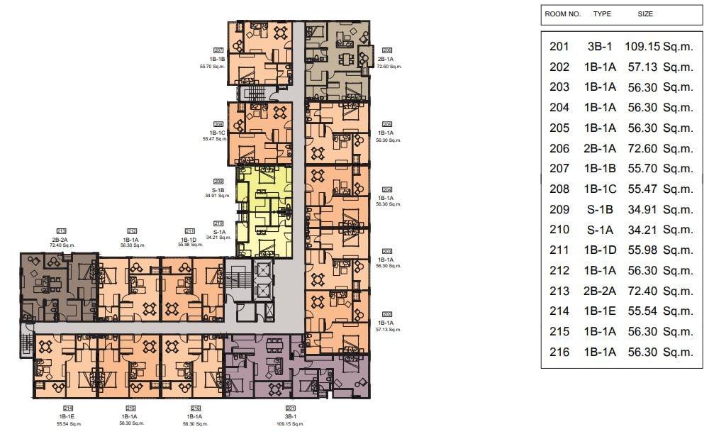 Cube floor 2