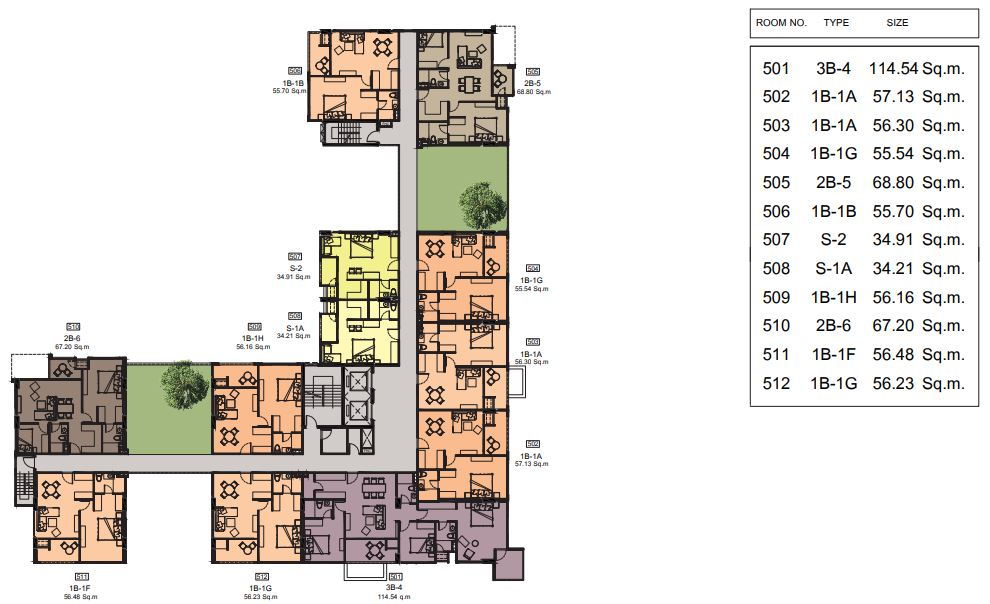 Cube floor 5