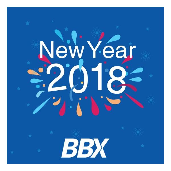BBX | Happy New Year 2018