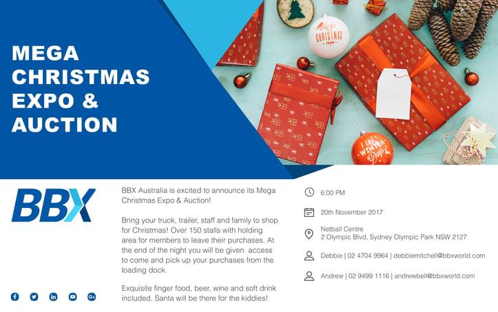 BBX Sydney - Mega Christmas Expo and Auction