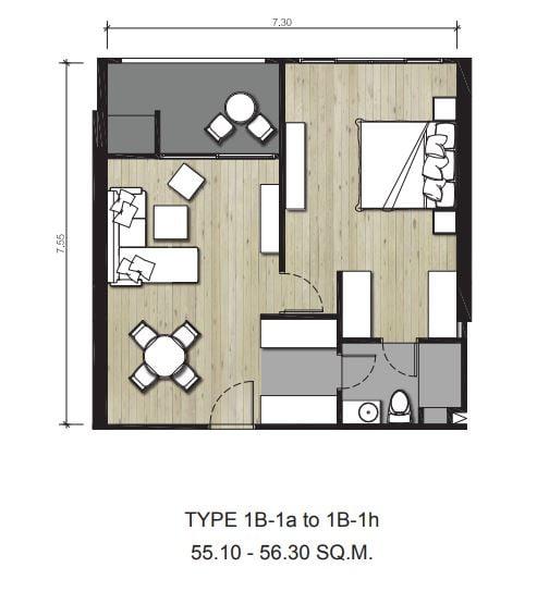 cube floor plan