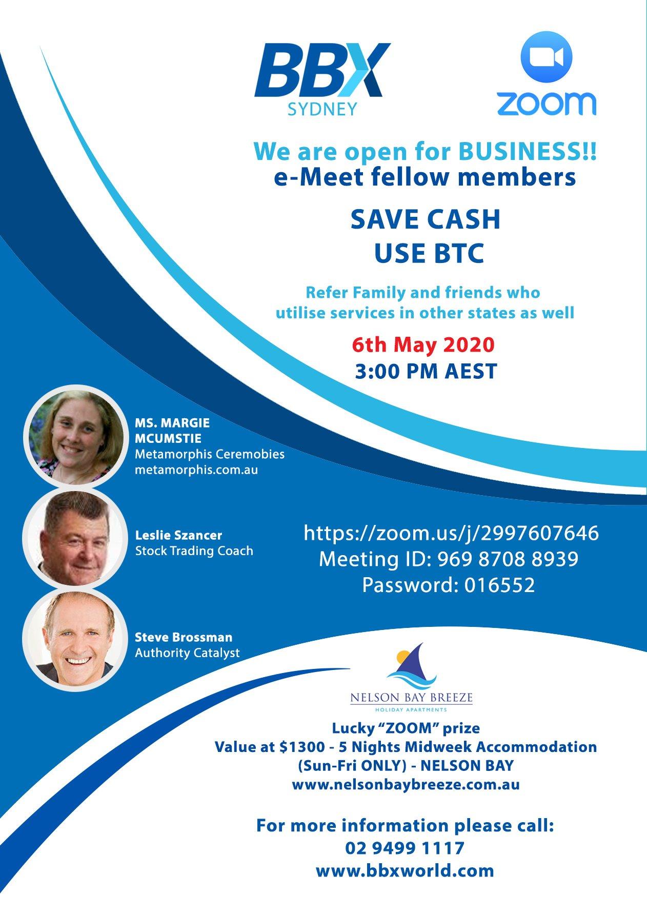 zoom meet - Brochure -1
